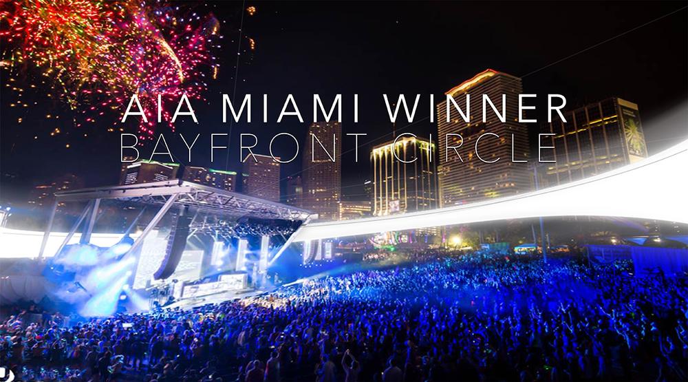 AIA Miami Award Winner- Bayfront Park Amphitheater
