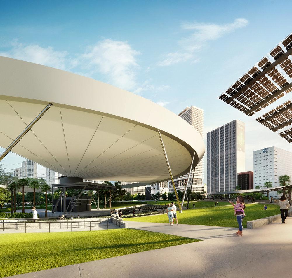 Bayfront Park Amphitheater by KoDA Miami