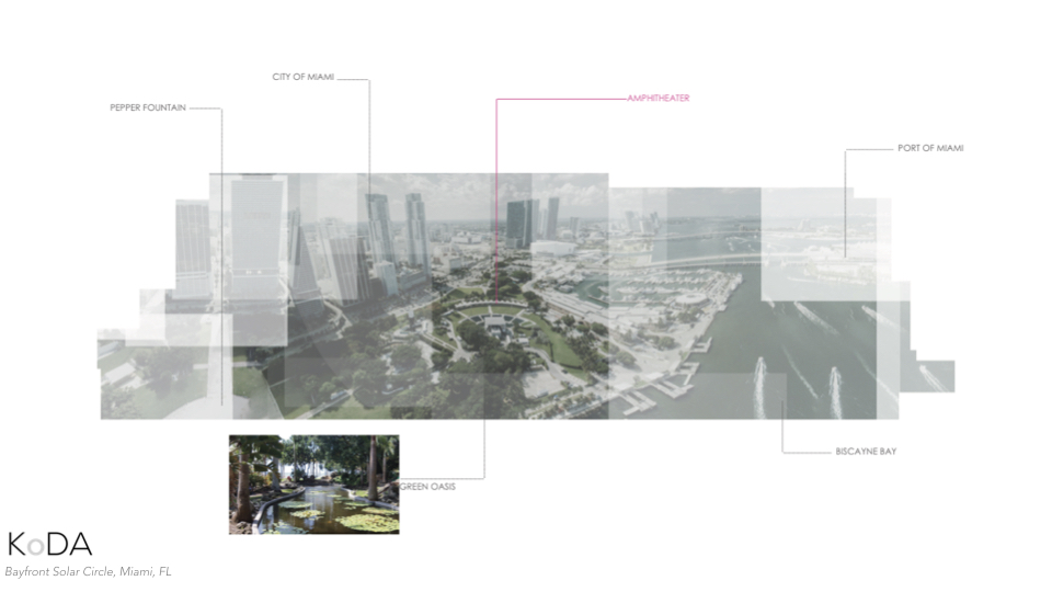 The location of this project became a huge opportunity to showcase our ideas about the future of infrastructure in the city. Here, in the cities public park lying at the threshold between the urban core and the bay.