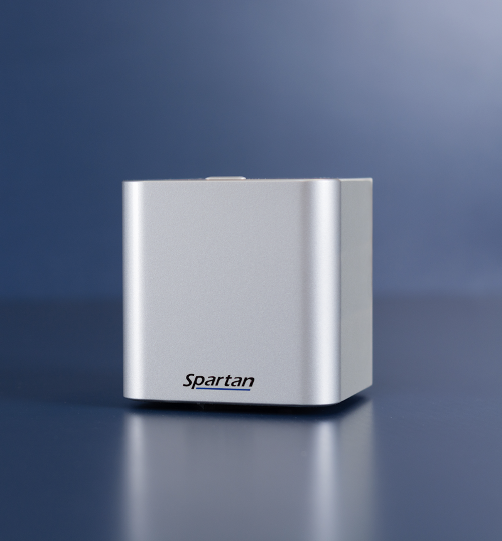 The Spartan Cube is the world's smallest commercial molecular diagnostics device