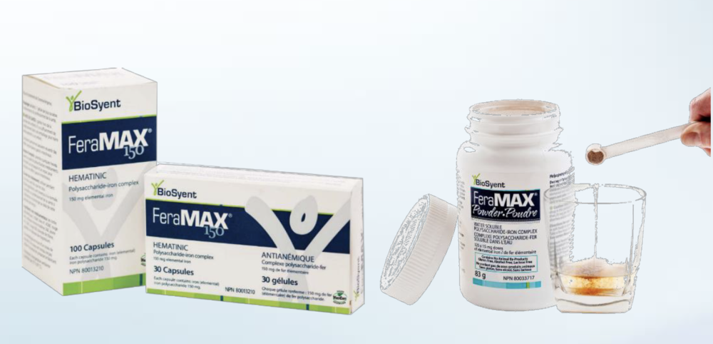 One of BioSyent's growth drivers includes FeraMAX, the No. 1 therapeutic and powder treatment for iron deficient anemia in Canada, which BioSyent also ships to five international markets