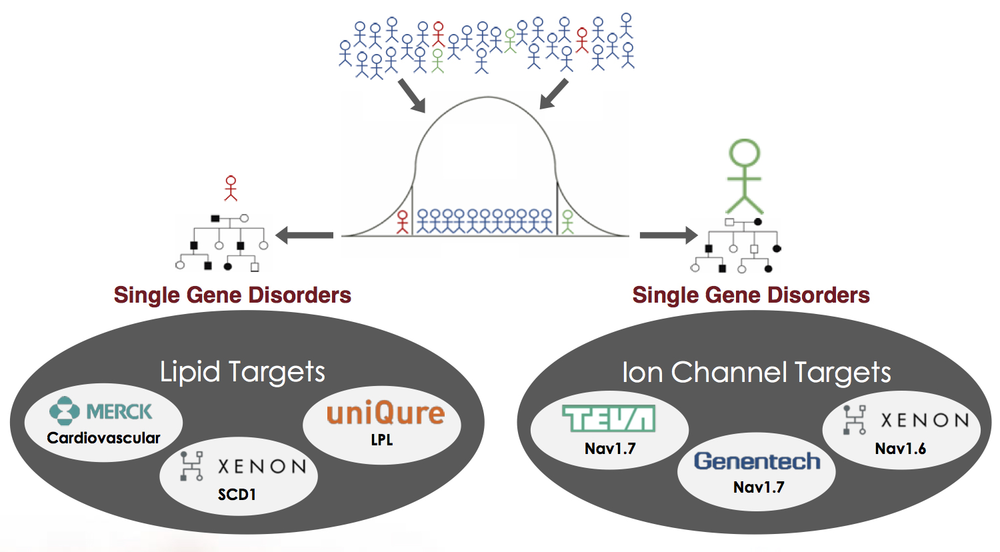 Xenon was founded on its proprietary Extreme Genetics platform, which has yielded a broad development pipeline and multiple pharmaceutical partnerships, including Teva and Genentech