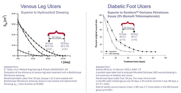 Nanoderm Xylinum Nanofibrillar Cellulose: Accelerates Wound Closure