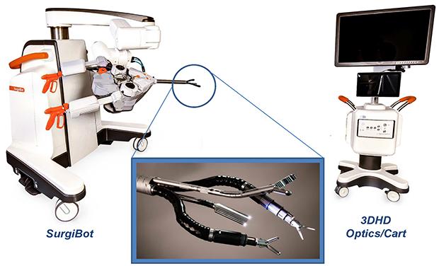 SurgiBot: First Patient-side Robotic Platform