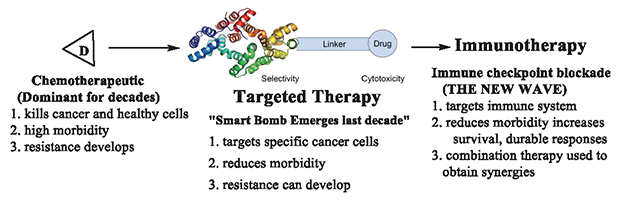 "Progress in Cancer Therapy: From ""Chemo"" to ""Immuno"""