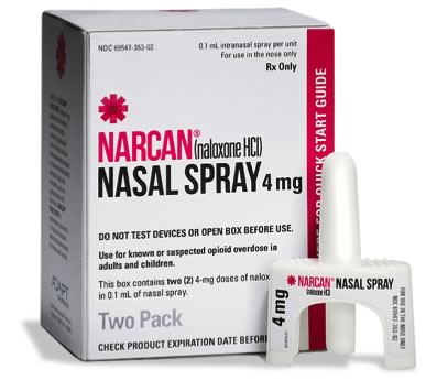 NARCAN® Nasal Spray is the easiest to use, needle-free and among the least expensive available alternatives