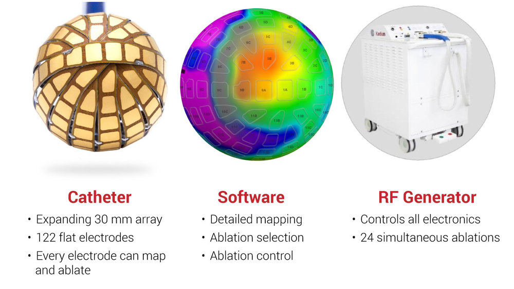 Globe® mapping and ablation system