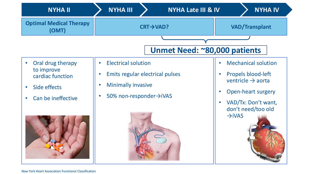 Heart Failure Progression - Available Therapies and Gaps