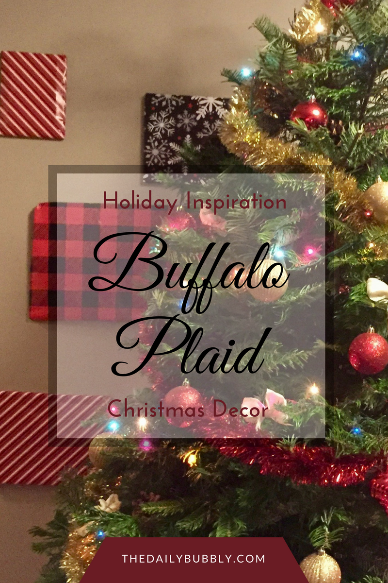 holiday inspiration christmas decor buffalo decor the daily - Plaid Christmas Tree Decorations