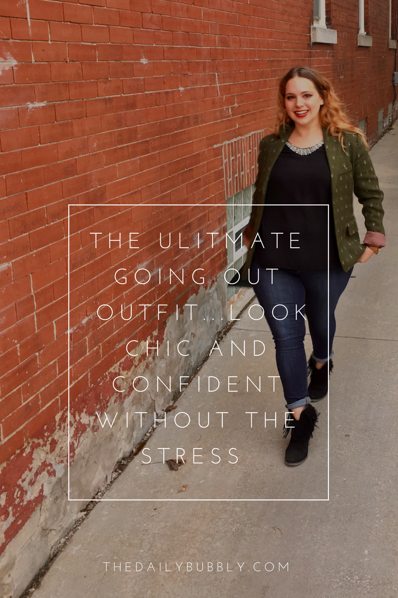 THE ULITMATE GOING OUT OUTFIT... LOOK CHIC AND CONFIDENT WITHOUT THE STRESS-The-Daily-Bubbly-Com