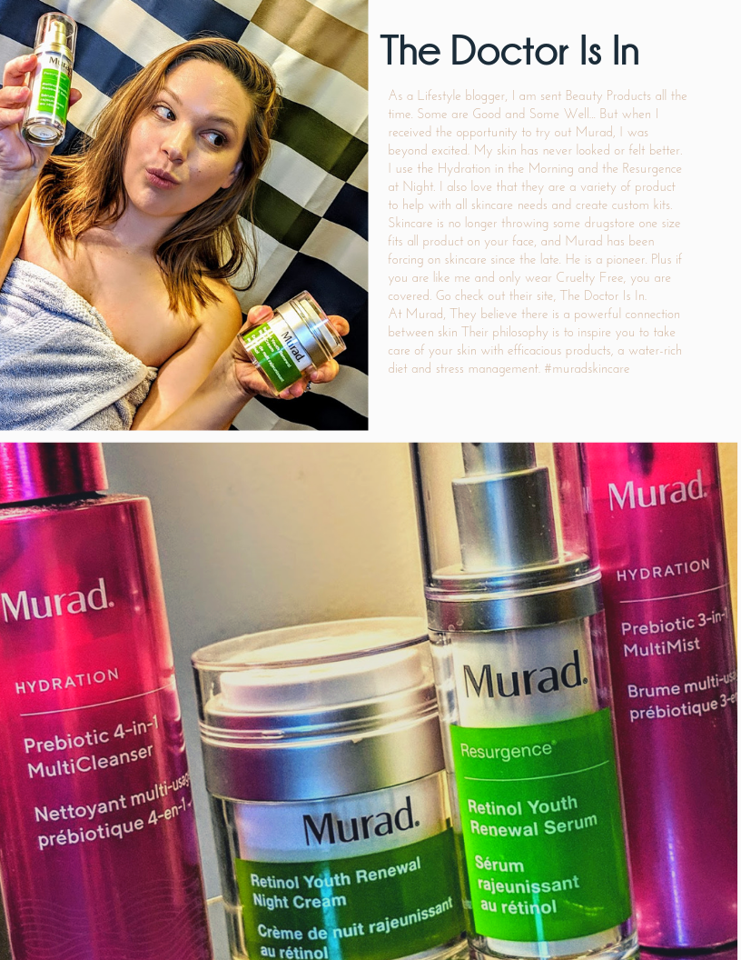 Learn More About Murad Skincare by Clicking  Here