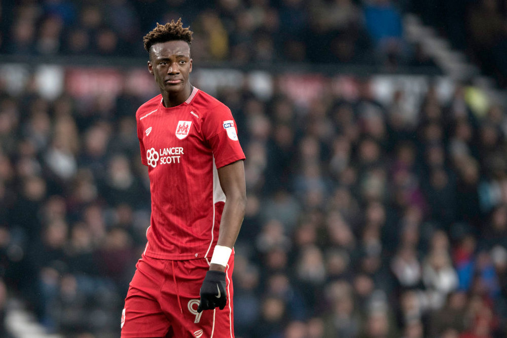 Chelsea loanee Tammy Abraham - The 19-year-old scored 23 times for Bristol City