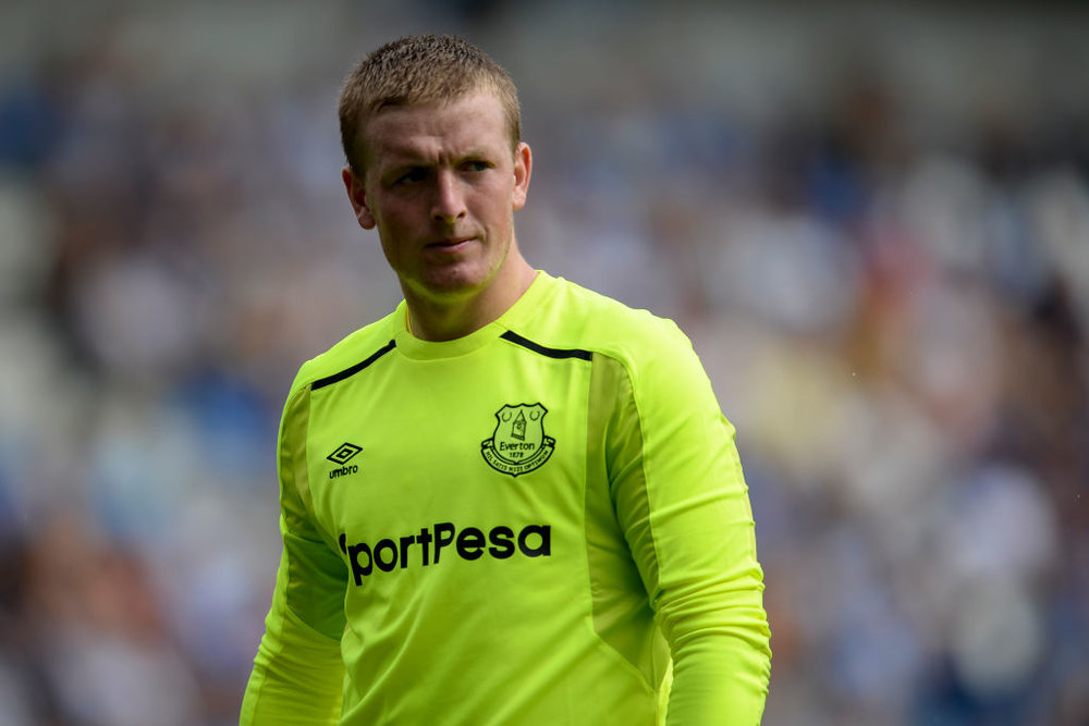 24-year-old Jordan Pickford is available in goal after we bumped up the age cap for 'keepers.