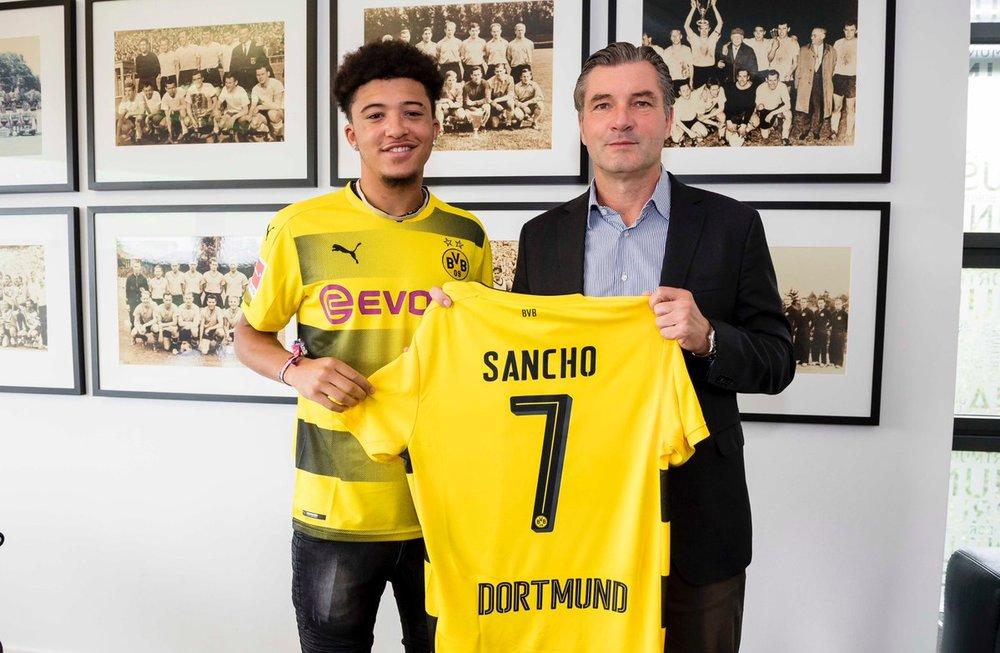 Borussia Dortmund's No.7