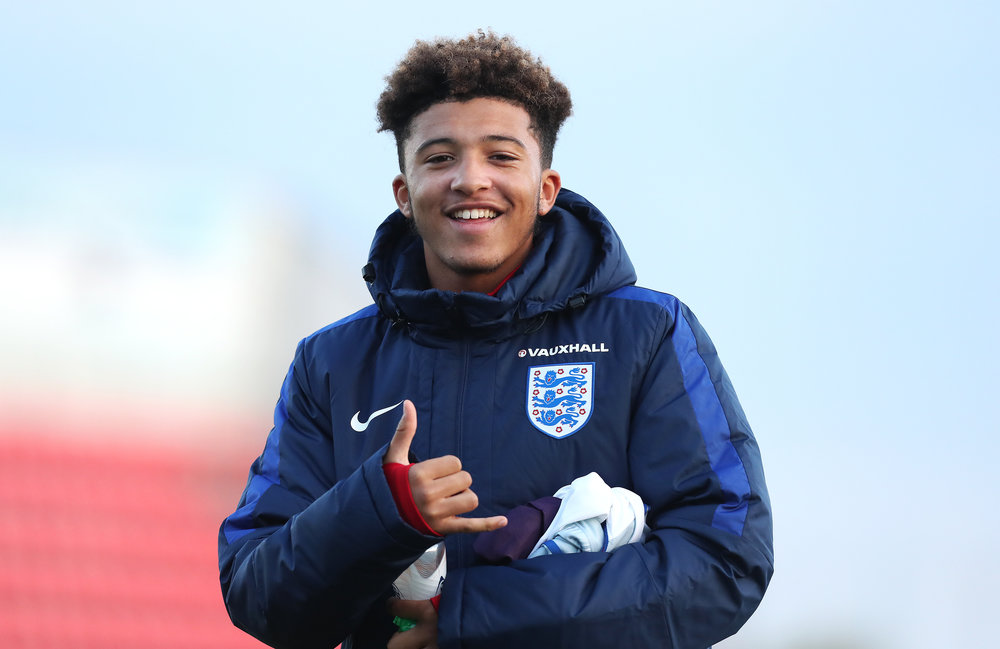 England superstar in the making.