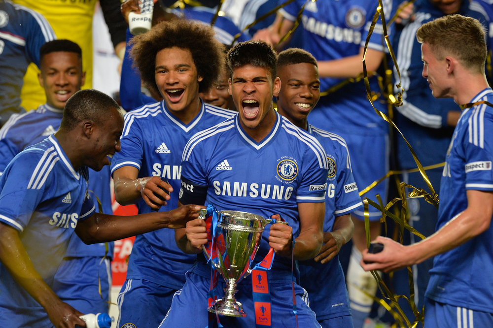 FA Youth Cup winners 2014; Chelsea have won every one since.
