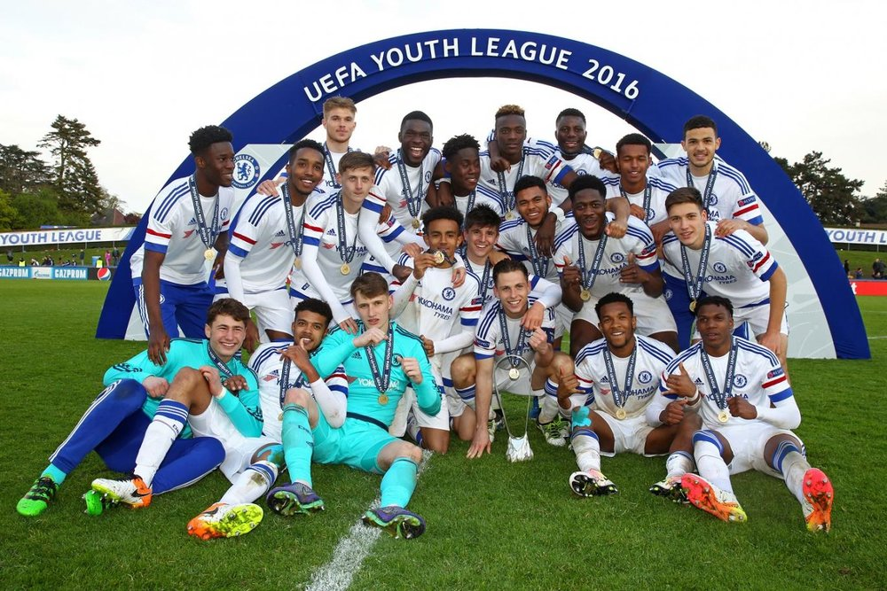Chelsea have won two of the four UEFA Youth League tournaments.