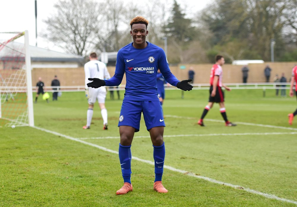 Callum Hudson-Odoi is the latest in a long line of exciting Chelsea academy products.