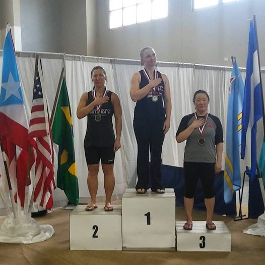 Congratulations to Monique on her 2nd place at the Pan American Weightlifting Championship!
