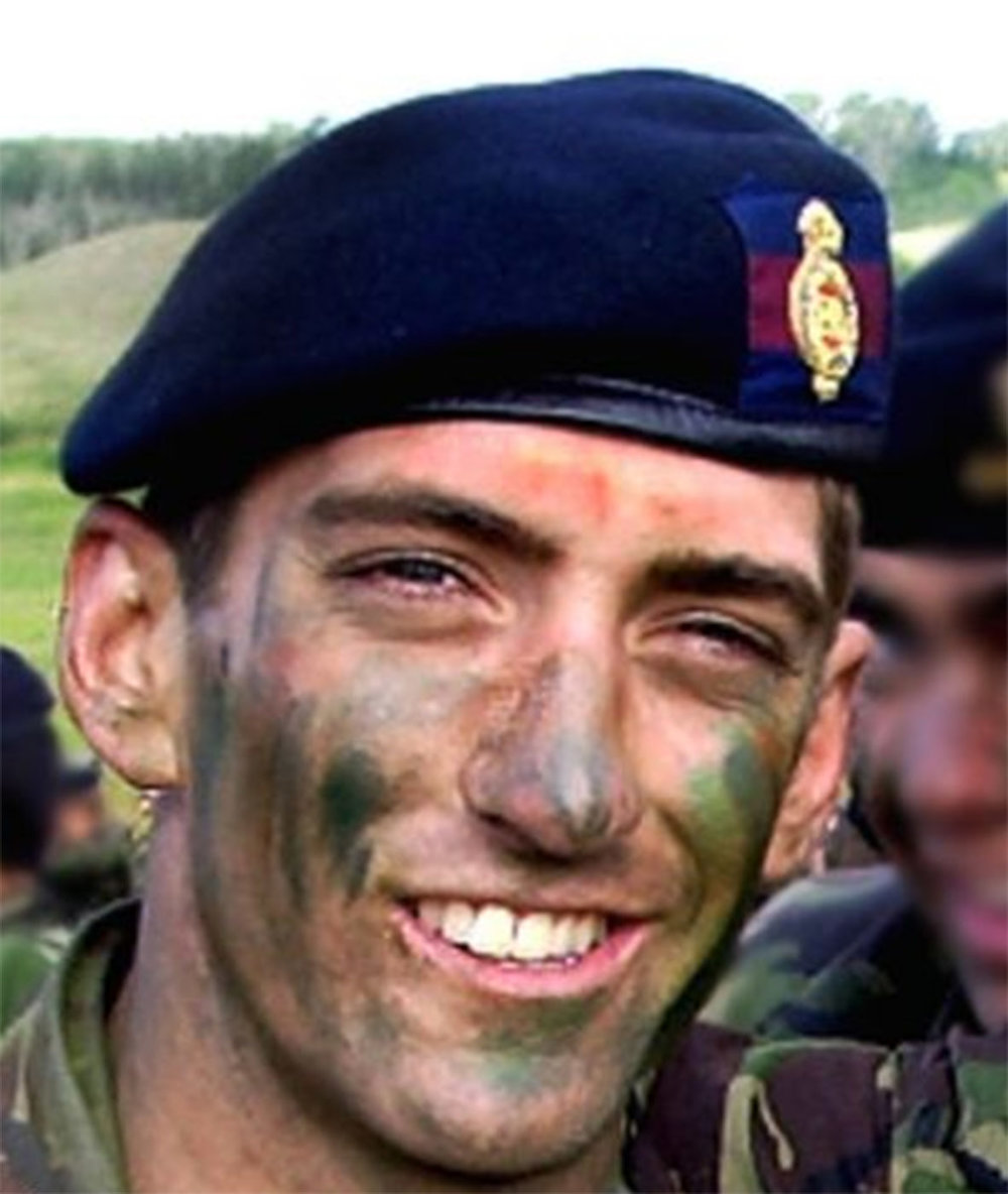 British Army Second Lieutenant Ralph Johnson, 24, of South Africa, assigned to the Household Cavalry Regiment, based in Windsor, England, was killed on August 1, 2006, in Helmand province, Afghanistan, when insurgents attacked his vehicle with an improvised explosive device.
