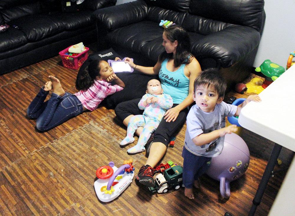 Janna & the kiddies