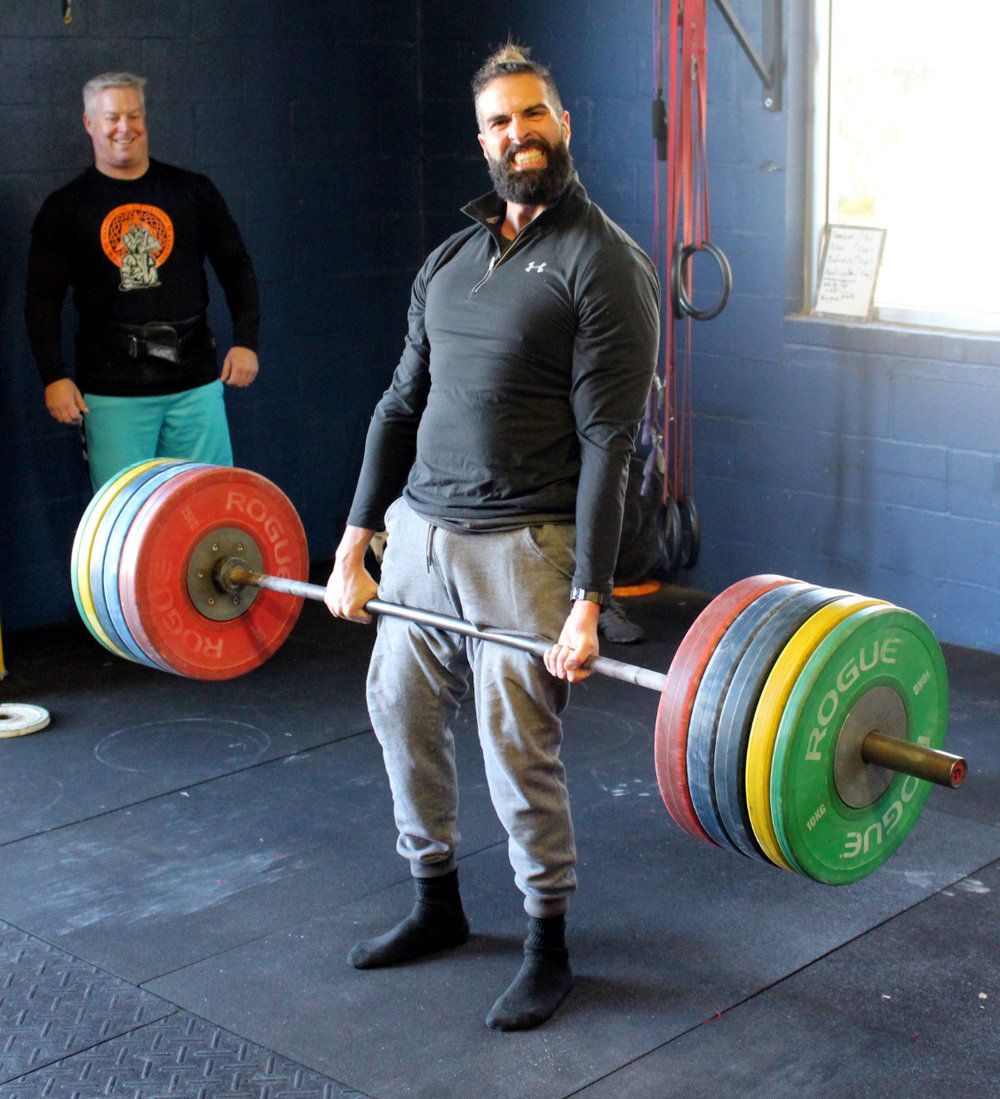 Adam R with 440 lbs