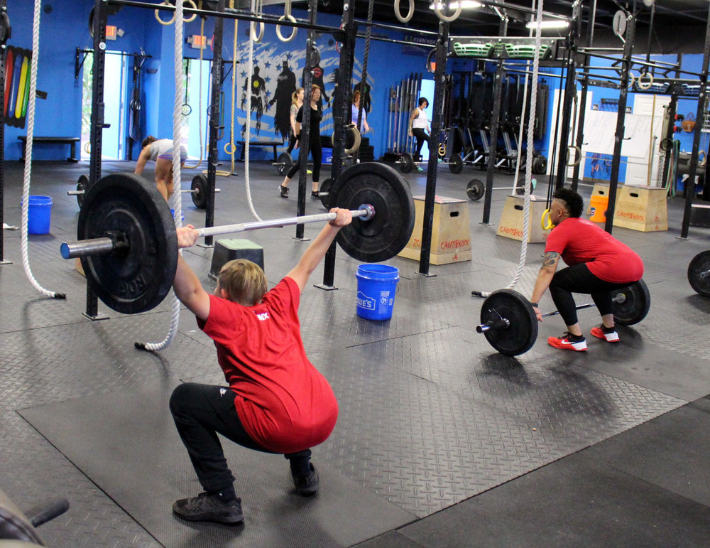 Snatches & Overhead Squats