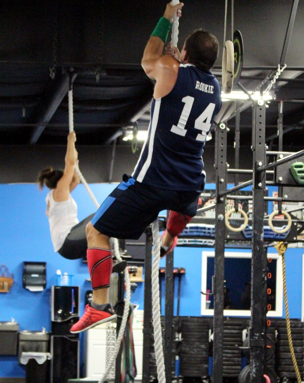 Rope Climbs - regular & legless