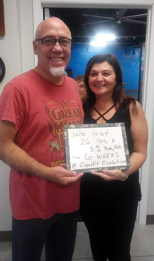 Congratulations to Roxanne & Jesus on amazing results!