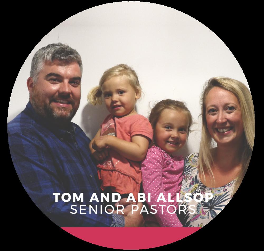 Tom and abi allsop ./