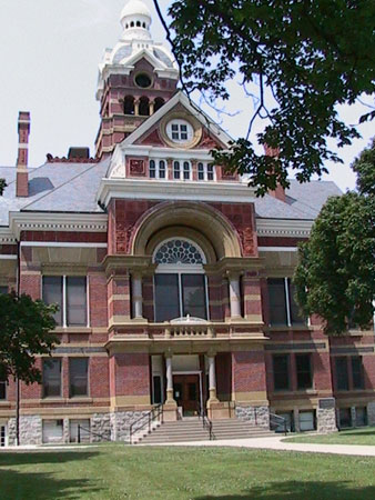 Lenawee County Courthouse, 309 North Main Street, 1885