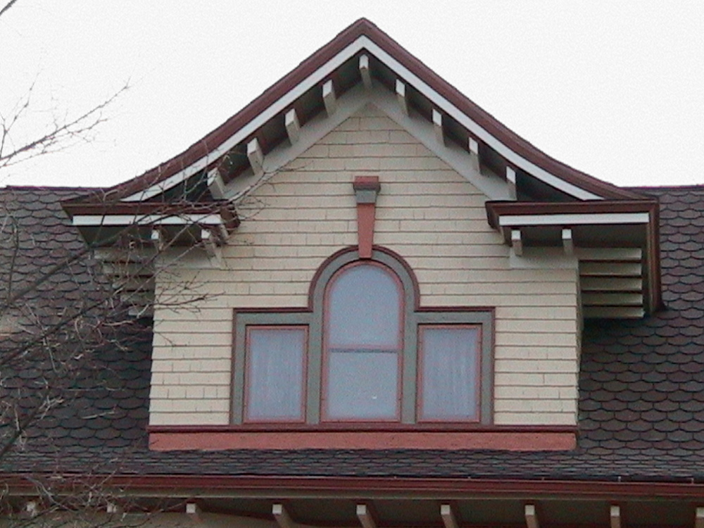 Broken Pediment (or Gable) Dormer
