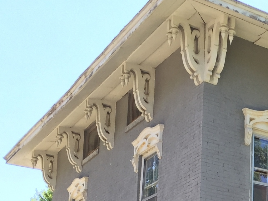 Italianate Brackets--1850s