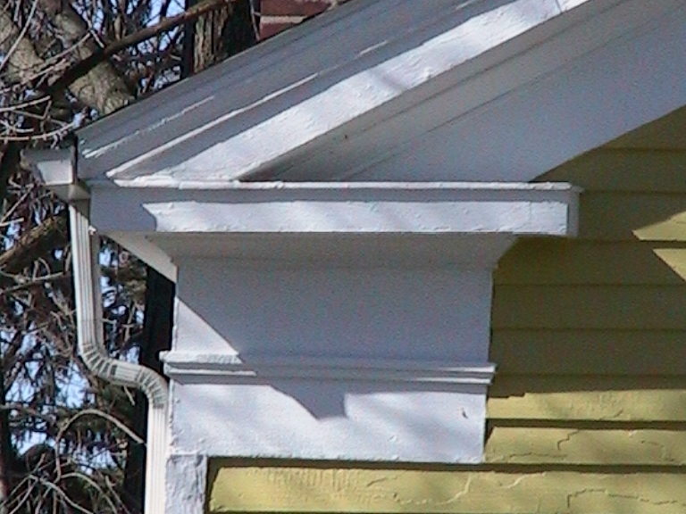 Greek Revival Frieze and Cornice Return