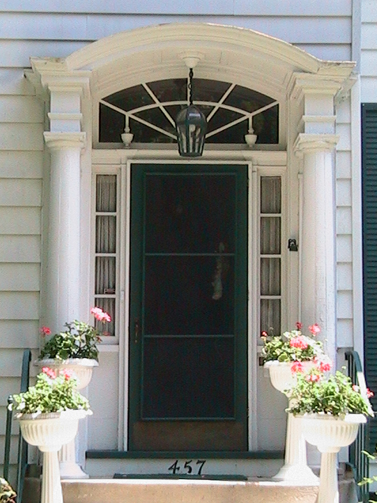 Colonial Revival Portico