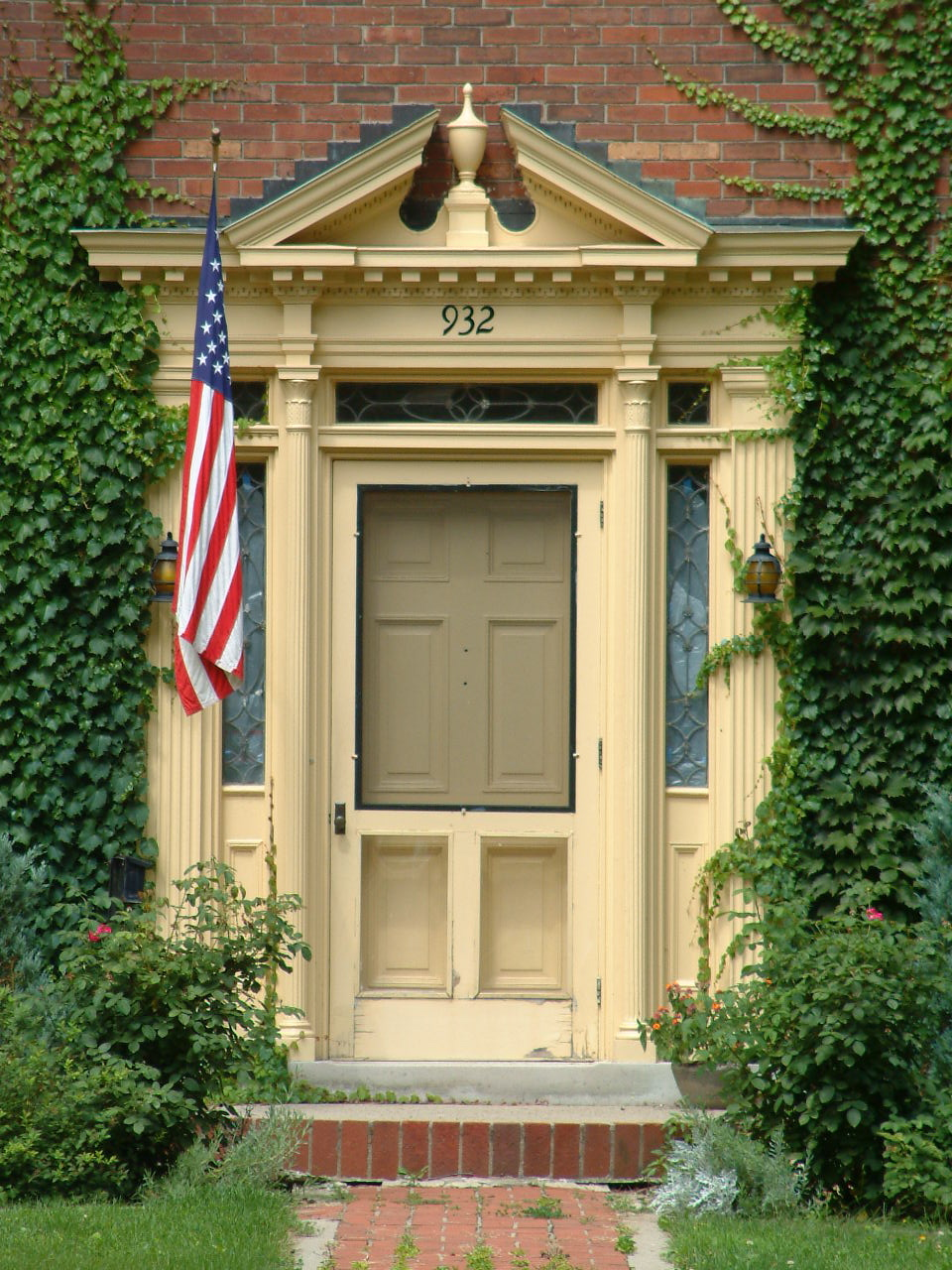 Colonial Revival Entrance