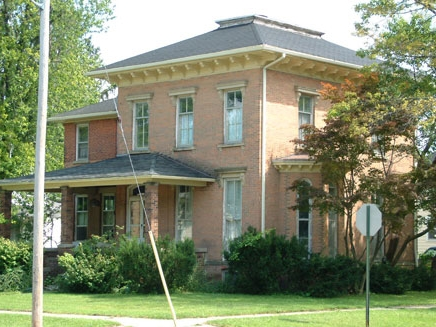 Hipped Roof--Italianate