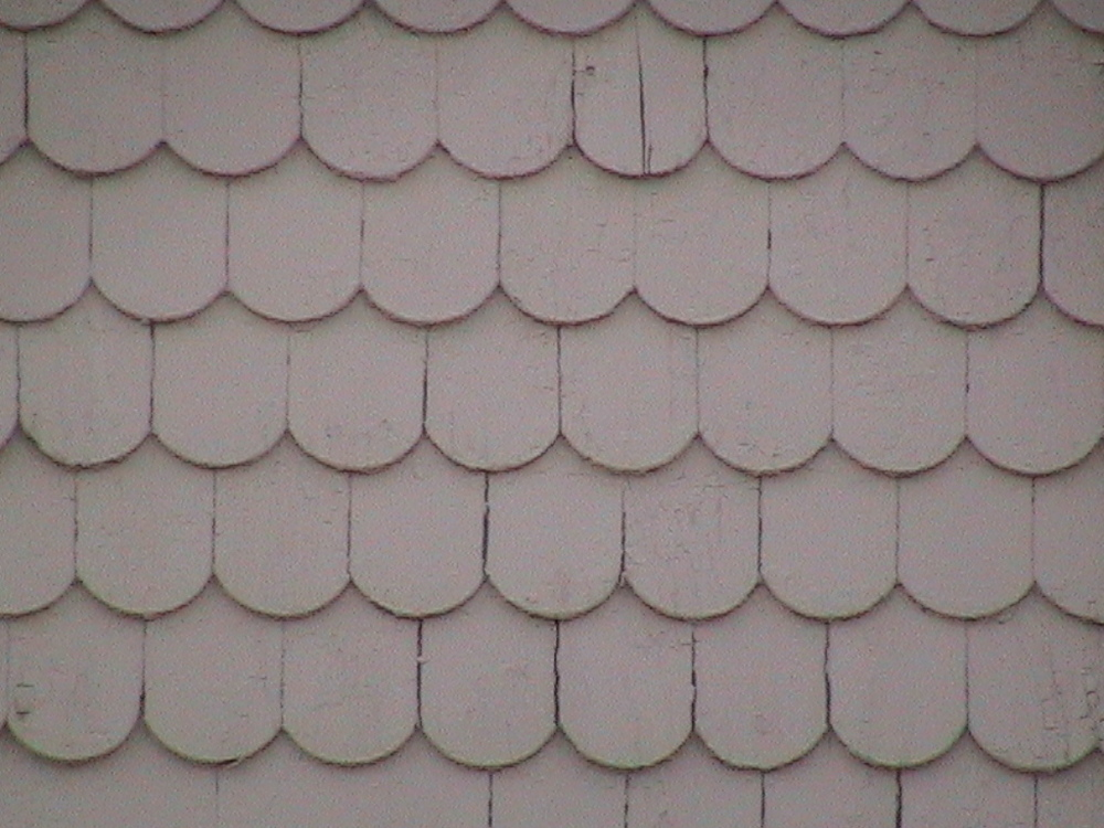 Machine-Cut Shingles