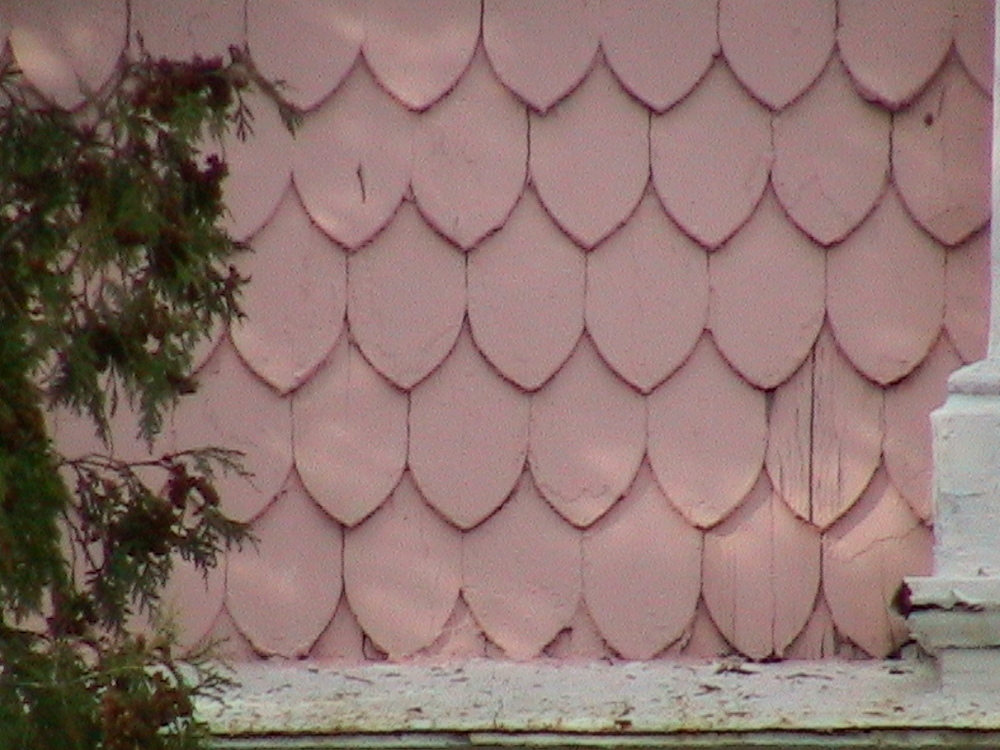 Fish-Scale Shingles