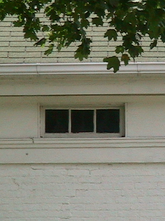 Frieze Window--Greek Revival