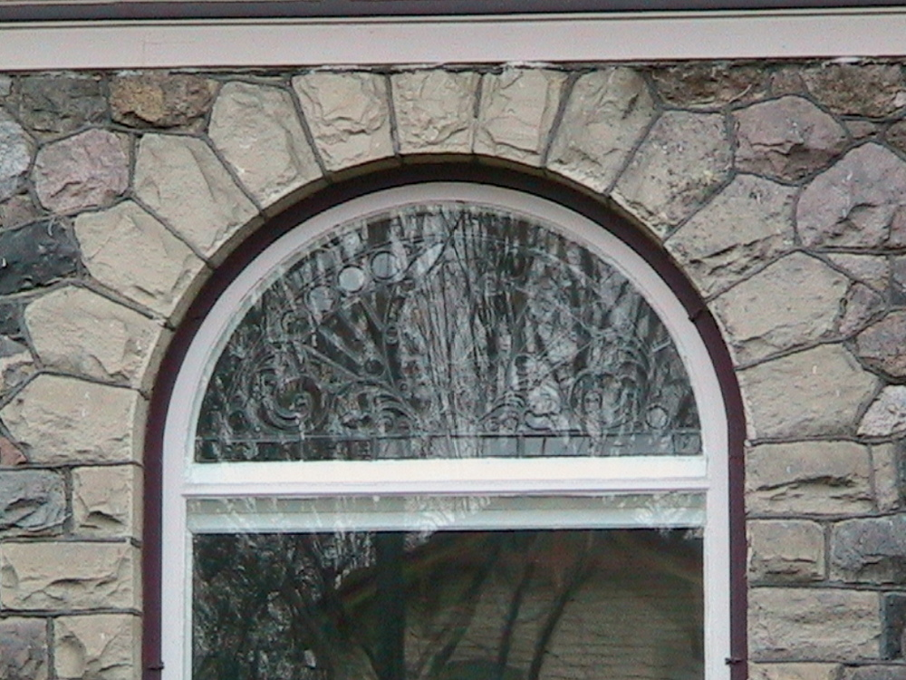 Romanesque Revival Window