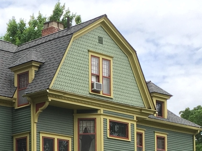 Gambrel Roof--Queen Anne