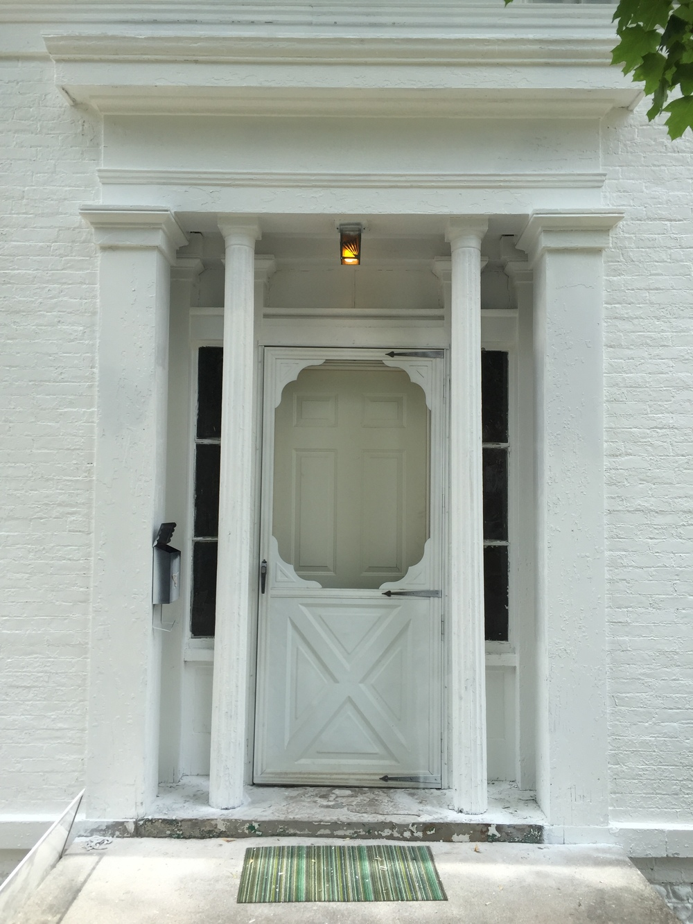 Greek Revival Entrance