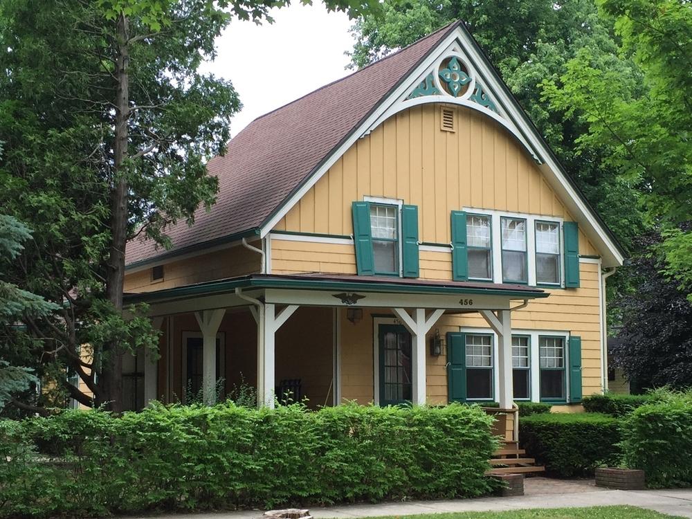 Damon-Ash House, 456 State Street, 1855