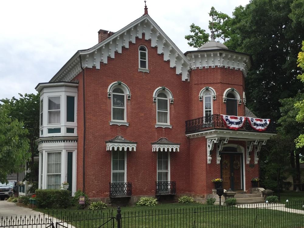 Italian Villa, Hart-Cavallero House, 430 Dennis Street, 1856