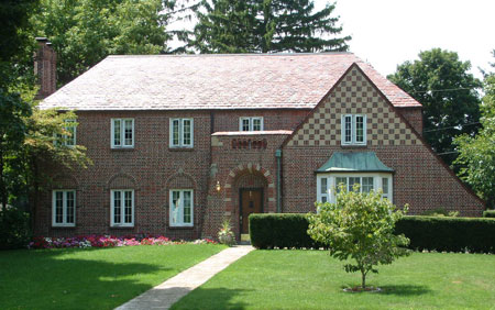 Tudor Revival Maynard-Campell House, 14 Maumee Court, 1926