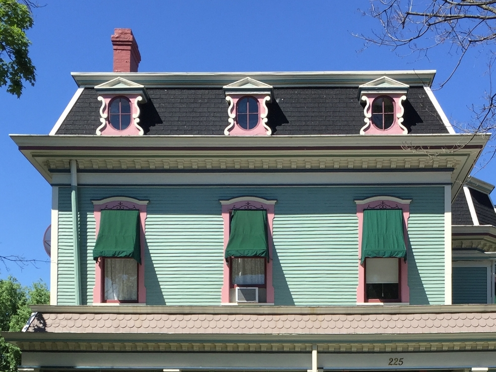 Mansard Roof--Second Empire
