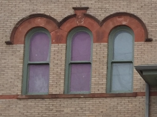 Richardsonian Romanesque Windows
