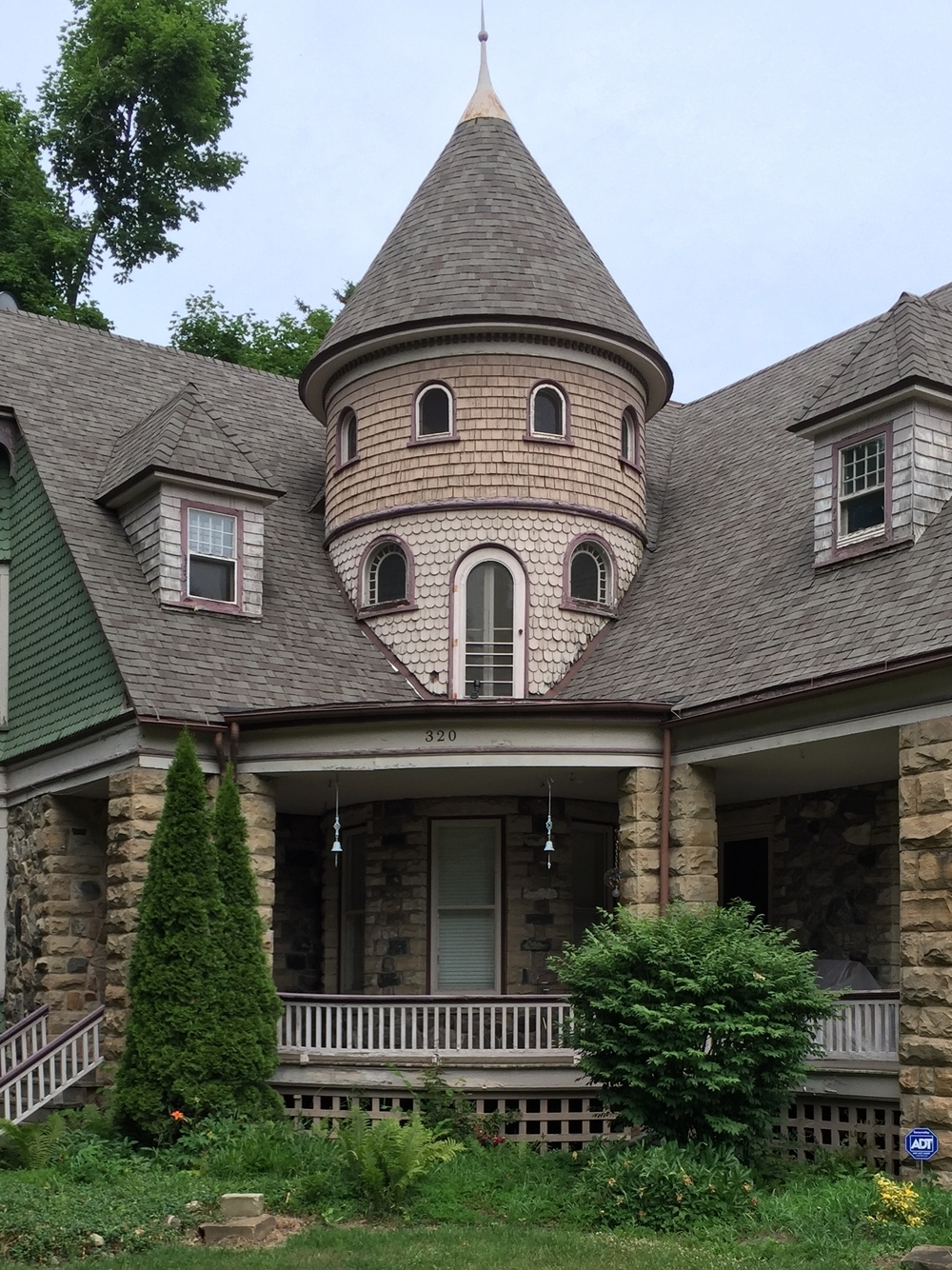 Shingle Style Tower
