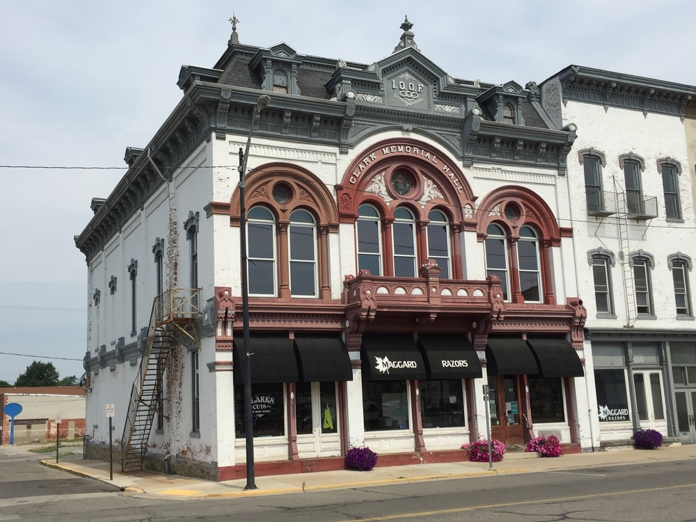 Clark Memorial Hall, 124 South Winter Street, 1887